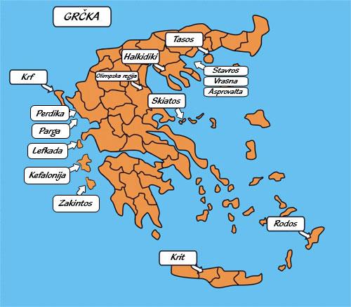 mapa grcke zakintos Letovanje GRCKA 2018,Leto GRCKA 2018,Leto u Grckoj 2018,Leto  mapa grcke zakintos