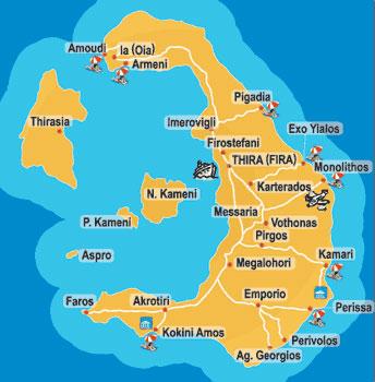 mapa grcke santorini Santorini   Gold program  Grcka mapa grcke santorini